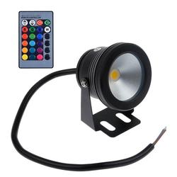 Rosnek LED Teichleuchte LED Unterwasser Spot Licht Aquarium Tauch Pool Licht Teich Lampe Beleuchtung Garten, Unterwasserbeleuchtung 30 cm