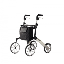 Trust Care Outdoor Rollator Let's Go Out schwarz/silber