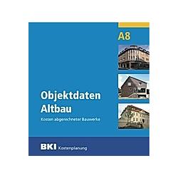 Objektdaten Altbau A8  m. CD-ROM - Buch