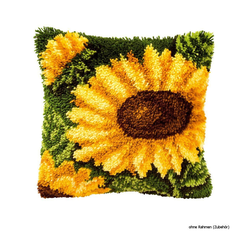 "Vervaco Knüpfkissen ""Sonnenblume"""