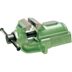 Parallel-Schraubstock 80 mm Farbe grün