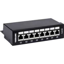 Intellinet 720908 8 Port Patch-Panel CAT 6a