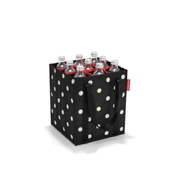 REISENTHEL® Flaschenkorb bottlebag für 9 Flaschen Mixed Dots