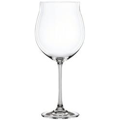 Nachtmann Weinglas Nachtmann, 4-teiliges Burgunderglas-Set, Kristallg, Kristallglas