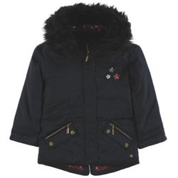 TOM TAILOR Girls Parka, blau