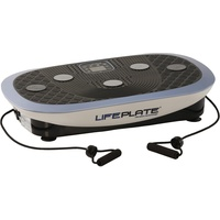 MAXXUS Vibrationsplatte Lifeplate 4.0, (Set, 3 tlg., mit Trainingsbändern, mit Trainingsplan, mit Unterlegmatte)