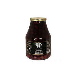 Schwarze Oliven mit Kern Kalamata extra large in Lake Jardinelle 2650g