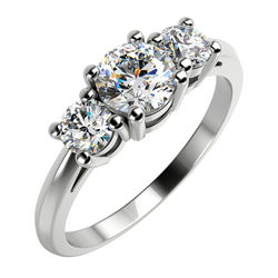 Verlobungsring mit Diamanten Rita