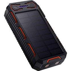 Poweradd Apollo PD-MP1005BK Solar-Powerbank Ladestrom Solarzelle 330mA Kapazität (mAh, Ah) 26800 mA