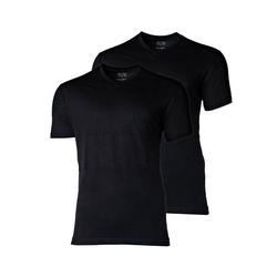 CECEBA Unterhemd Herren T-Shirts, - V-Ausschnitt, Kurzarm, schwarz 6XL