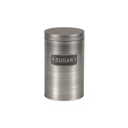 Michelino Zuckerdose Zuckerdose Vorratsdose Silber, Metall, (1-tlg)