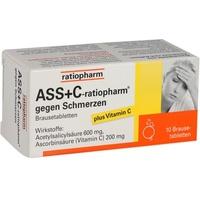 Ratiopharm ASS + C-ratiopharm gegen Schmerzen Brausetabletten