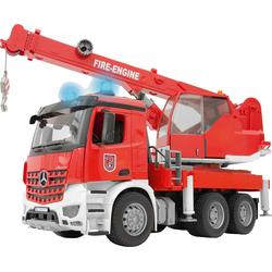 Bruder® Modellauto MB Arocs Feuerwehr Kran mit Light & Sound