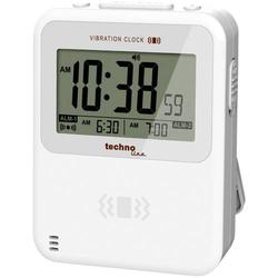 Techno Line WT 350 Quarz Wecker Weiß Alarmzeiten 2