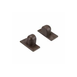 Magnethalter, Liedeco, Jalousien, (Set, 2-tlg), Pendelsicherung für Aluminium-Jalousien