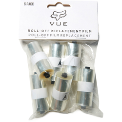 FOX Vue Roll Off Film 6PK, transparent