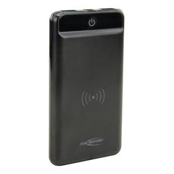 ANSMANN® Wireless Powerbank 8000mAh - Qi-Laden mit 5W - mit LED-Taschenlampe Powerbank 8000 mAh (3.7 V)