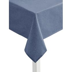 Tischdecke blau oval - 140 cm x 190 cm