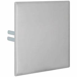 KAMO Abdeckplatte - Edelstahl matt - für Wasserzähler-Messstation WM-KH - 280 x 280 mm
