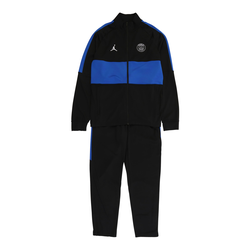 Jordan Sportanzug schwarz / blau, Größe 134, 4765353