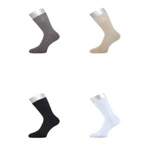 ichwillgartenmoebel.de 6 Paar Socken - antibakterielle Strümpfe aus Bambus 34 - 37 weiß
