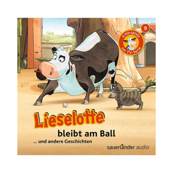 Sauerländer Verlag Hörspiel CD Lieselotte TV-Serie 09 - Lieselotte bleibt am