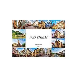 Wertheim Impressionen (Tischkalender 2021 DIN A5 quer)