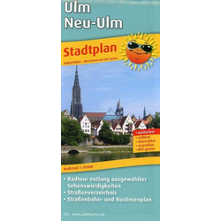 Ulm / Neu-Ulm Stadtplan