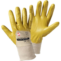 Worky L+D Flex Nitril 1496 Nitrilkautschuk Arbeitshandschuh Größe (Handschuhe): 8, M EN 388-2003 C