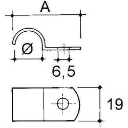 Niedax Rohrbefestigung RCC-25
