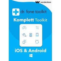Wondershare Dr. Fone - Komplett Toolkit für PC