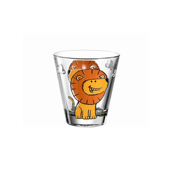 Glas Koch Kinderbecher Bambini Löwe, 215 ml
