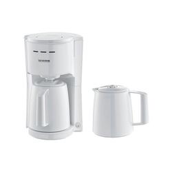 Severin Filterkaffeemaschine KA 9256, mit 2 Isolierkannen weiß