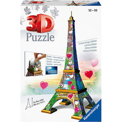 3D-Puzzle Eiffelturm Love Edition, 216 Teile