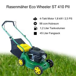 STABILO Benzin Rasenmäher Benzinrasenmäher Motormäher Eco Wheeler ST 410 PII