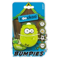 Coockoo Hundespielzeug Bumpies Apfel, Maße: 7 x 5,6 x 4,8 cm
