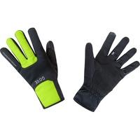 Gore Wear M Gore Windstopper Thermohandschuhe black/neon yellow 3XL