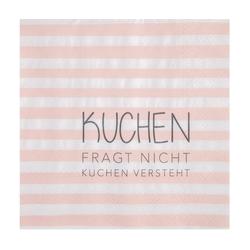 """Räder Design Papierserviette SERVIETTEN """"KUCHEN FRAGT NICHT"""""""