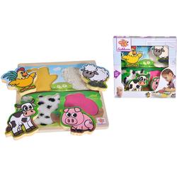Eichhorn Steckpuzzle Fühl-Puzzle mit Stoff bunt Kinder Puzzle Gesellschaftsspiele Puzzles