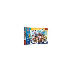 Trefl Puzzle Puzzle PAW Team - PAW Patrol: THE MOVIE, 100 Teile, Puzzleteile