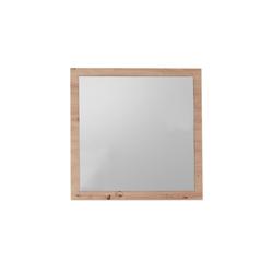 Bega First Look Dielenmöbel Spiegel Gomera in Artisan-Optik, 78 x 78 cm