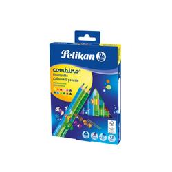 12 Pelikan Dreikant-Buntstifte Combino dick