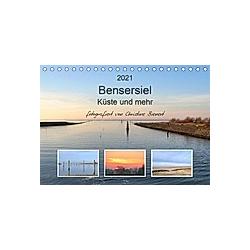 Bensersiel Küste und mehr (Tischkalender 2021 DIN A5 quer)