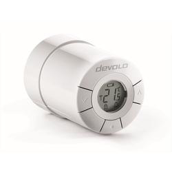 DEVOLO (Smarthome Funk Thermostat, Z-Wave, per App) Smartes Heizkörperthermostat, Home Control Heizkörperthermostat