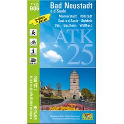 Bad Neustadt 1 : 25 000
