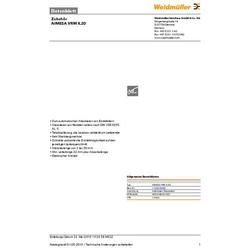 Weidmüller AIMESA VRM 6,20 1120910000 Abisoliermesser-Ersatzmesser