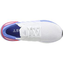 adidas Ultraboost 19 white-blue/ white, 42