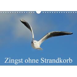 Zingst ohne Strandkorb (Wandkalender 2021 DIN A4 quer)