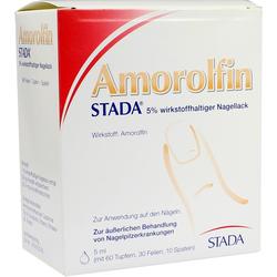Amorolfin Stada 5% wirkstoffh. Nagellack