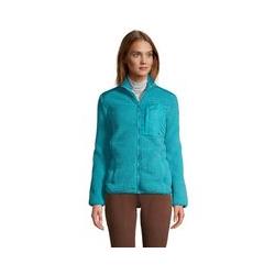 Jacke aus Teddyfleece - 48-50 - Blau